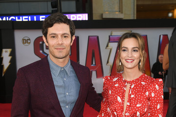"""Leighton Meester Warner Bros. Pictures And New Line Cinema's World Premiere Of """"SHAZAM!"""" - Red Carpet"""