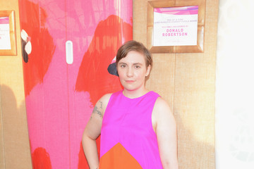 Lena Dunham Moet & Chandon Toasts to Paddle for Pink
