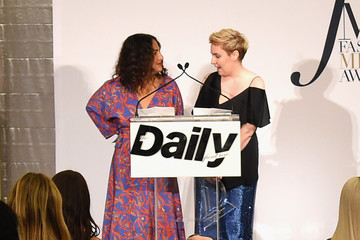 Lena Dunham Daily Front Row's Fashion Media Awards - Inside