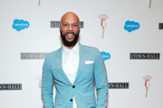 Common attends the Lena Horne Prize Event Honoring Solange Knowles Presented by Salesforce at the Town Hall on February 28, 2020 in New York City.