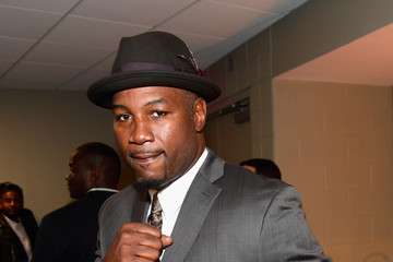 Lennox Lewis D'USSE Lounge at Kovalev vs. Ward