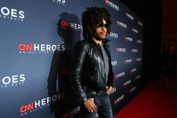 Lenny Kravitz 12th Annual CNN Heroes: An All-Star Tribute - Red Carpet Arrivals