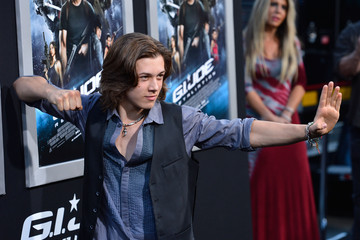 Leo Howard 'G.I. Joe: Retaliation' Premieres in Hollywood 2