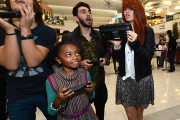 """Leo Howard Nintendo Teams Up With Disney Stars For """"How You Will Play Next"""" During The Wii U Showdown At The Westfield Culver City Mall"""