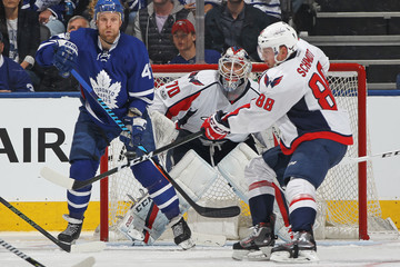 Leo Komarov Washington Capitals v Toronto Maple Leafs - Game Four