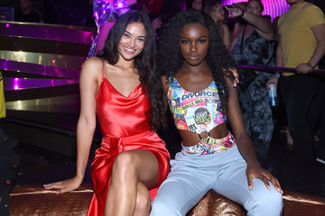 Leomie Anderson HQ2 Opening Night With Diplo Performance At Ocean Resort Casino