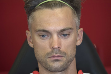 Leon Camier FIM Superbike World Championship - Race 2