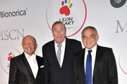 Prof. Dr. Michael Popp, Frank Fleschenberg and Felix Magath during the Leon Heart Foundation charity dinner at Charles hotel on November 17, 2017 in Munich, Germany.