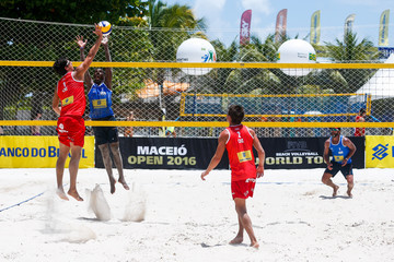Leon FIVB Beach Volleyball World Tour Maceio Open - Day 1