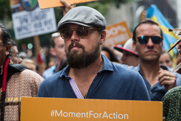 Leonardo DiCaprio People's Climate March