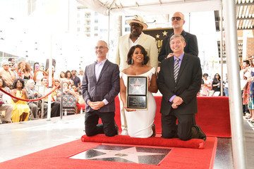 Leron Gubler Niecy Nash Honored With Star On The Hollywood Walk Of Fame