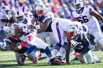 Lesean Mccoy New England Patriots v Buffalo Bills