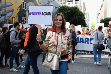 Lesley Ann Warren March For Our Lives Los Angeles