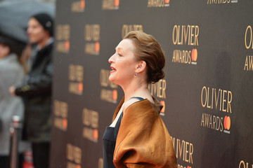 Lesley Manville The Olivier Awards With Mastercard - VIP Arrivals