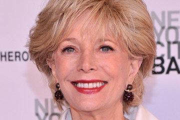 Lesley Stahl Arrivals at the NYC Ballet's Spring Gala