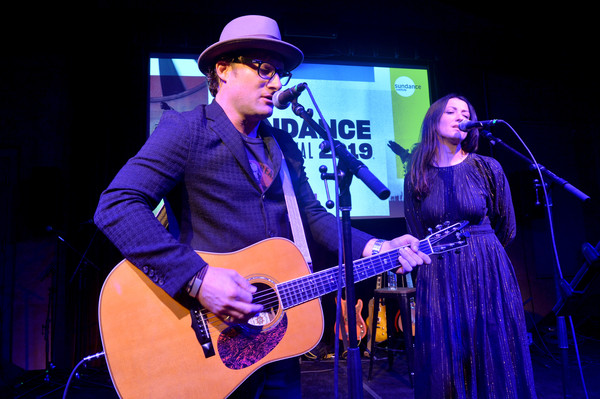 2019 Sundance Film Festival - Celebration Of Music In Film [string instrument,musician,performance,guitar,music,entertainment,musical instrument,guitarist,performing arts,utah,park city,the shop,sundance film festival - celebration of music in film,sundance film festival,feist,chris stills]