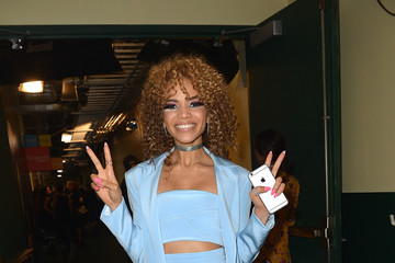 Leslie Grace Univision's 13th Edition Of Premios Juventud Youth Awards - Roaming Backstage