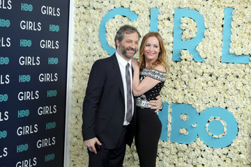 Leslie Mann The New York Premiere of the Sixth and Final Season of 'Girls' - Red Carpet