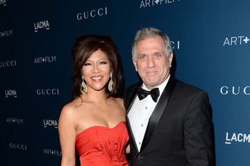 Leslie Moonves LACMA 2013 Art + Film Gala Honoring Martin Scorsese And David Hockney Presented By Gucci - Red Carpet