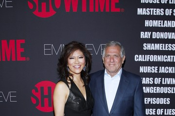 Leslie Moonves Arrivals at the Showtime Emmy Eve Soiree