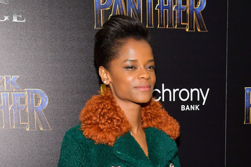 Letitia Wright The Cinema Society Hosts a Screening of Marvel Studios' 'Black Panther'