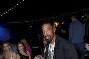 Scottie Pippen attends the Levi's Brand Presents Neon Carnival with Bondi Sands and POKÉMON: Detective Pikachu on April 13, 2019 in Thermal, California.