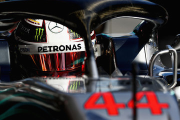 Lewis Hamilton F1 Winter Testing In Barcelona - Day Four