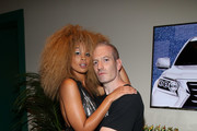 Lion Babe and guest attend Lexus Lounge at MADE Milk Studios on September 8, 2016 in New York City.
