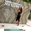 Leyna Bloom Popeyes Nuggets Activation At Sports Illustrated Swimsuit Party