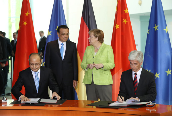China and Germany Hold Cooperation Talks