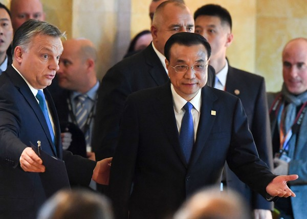 Chinese Premier Li Keqiang Attends an Economic Forum With Central and Eastern European Leaders in Budapest