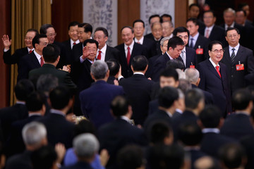 Li Peng China's National Day Reception