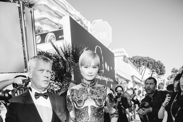 Li Yuchun L'Oreal at the 70th Cannes Film Festival B&W - #Canniversary