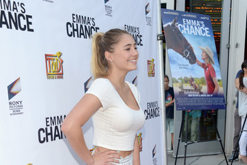 Lia Marie Johnson Screening Of Sony Pictures Home Entertainment's 'Emma's Chance' - Roaming Arrivals