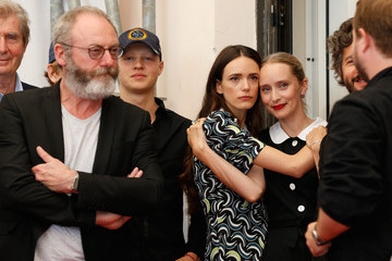 Liam Cunningham Mona Fastvold 'The Childhood of a Leader' Photocall - 72nd Venice Film Festival