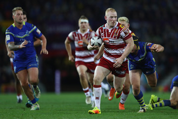 Liam Farrell Warrington Wolves v Wigan Warriors - First Utility Super League Final