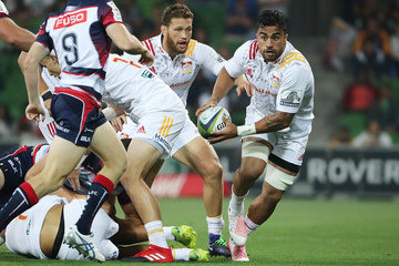 Liam Messam Super Rugby Rd 4 - Rebels v Chiefs