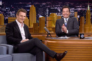 Liam Neeson Visits 'The Tonight Show'