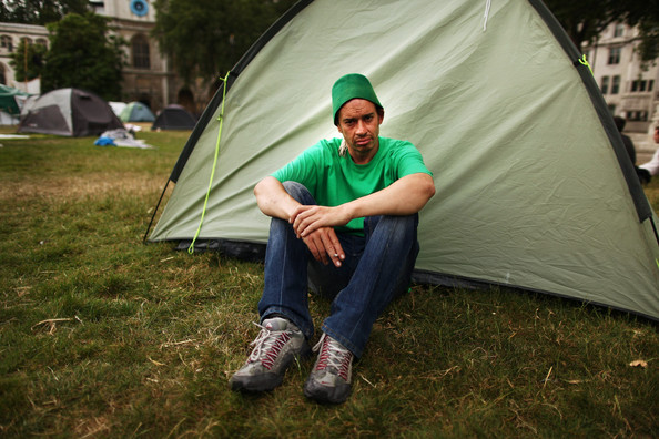 A Portrait Of The Parliament Square Peace Camp As Eviction Looms