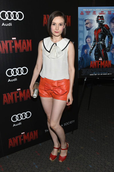 The Cinema Society and Audi Host A Screening of Marvel's 'Ant-Man' - Arrivals