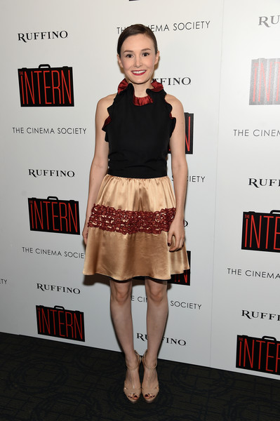 The Cinema Society and Ruffino Host a Screening of Warner Bros. Pictures' 'The Intern' - Arrivals