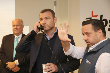 Liev Schreiber Annual Charity Day Hosted By Cantor Fitzgerald, BGC and GFI - BGC Office - Inside
