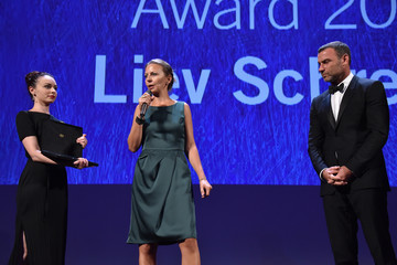 Liev Schreiber Persol Tribute to Visionary Talent Award to Liev Schreiber - Inside the 73rd Venice Film Festival
