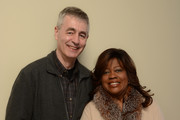 Filmmaker Steve James and Chaz Ebert pose for a portrait during the 2014 Sundance Film Festival at the Getty Images Portrait Studio at the Village At The Lift on January 19, 2014 in Park City, Utah.