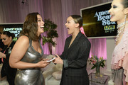 Ashley Graham and Lucy Garland celebrate Lucy's win of Lifetime's American Beauty Star Season 2 Live Finale at Manhattan Center on March 27, 2019 in New York City.