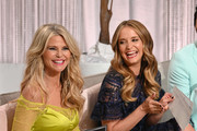 Christie Brinkley and Leah Wyar Photos Photo