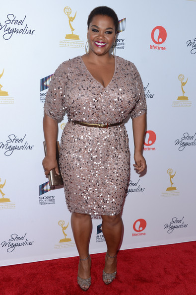 "Jill Scott attends Lifetime's ""Steel Magnolias"" Premiere Event on October 3, 2012 in New York City."