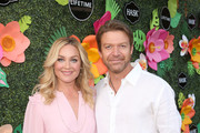 (L-R) Elisabeth Rohm and Matt Passmore attend the Lifetime Summer Luau on May 20, 2019 in Los Angeles, California.