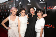 "(L-R) Executive Marti Noxon, actress Shiri Appleby, executive producer Sarah Gertrude Shapiro and actress Constance Zimmer attend the Lifetime and US Weekly's Premiere Event for New Drama ""UnREAL"" at The SIXTY Beverly Hills on May 20, 2015 in Beverly Hills, California."