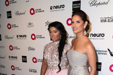 Lil Kim Arrivals at the Elton John AIDS Foundation Oscars Viewing Party — Part 4